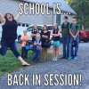 Mom Poses with Kids for Back to School Photos becomes Internet Sensation!