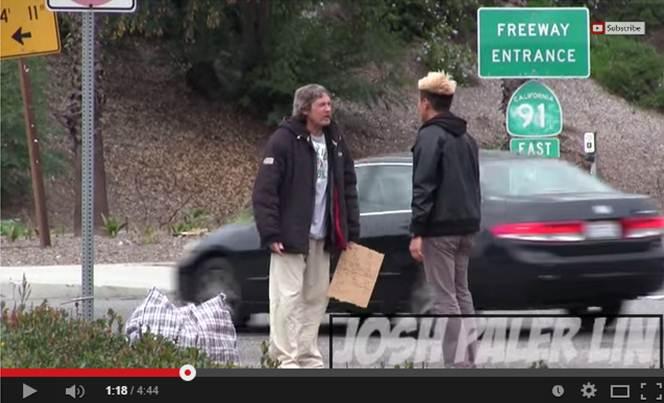 Homeless Man 100