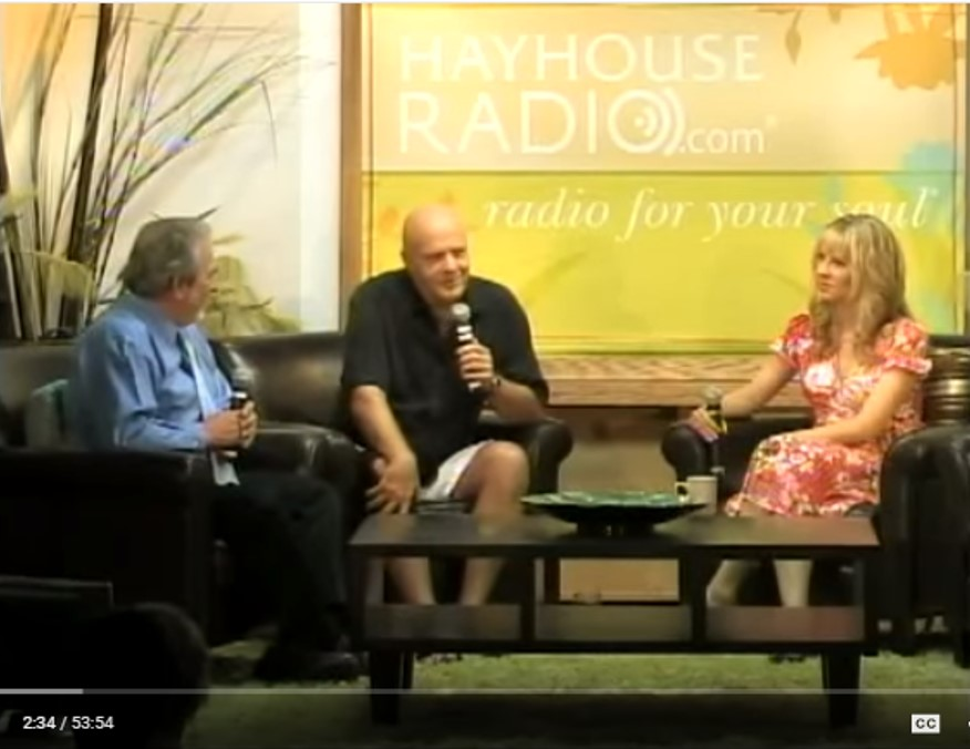 Dr Bruce Lipton and Dr Wayne Dyer