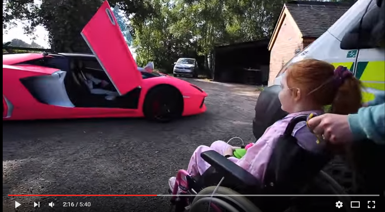 Richard Hammond Pink Lamborghini