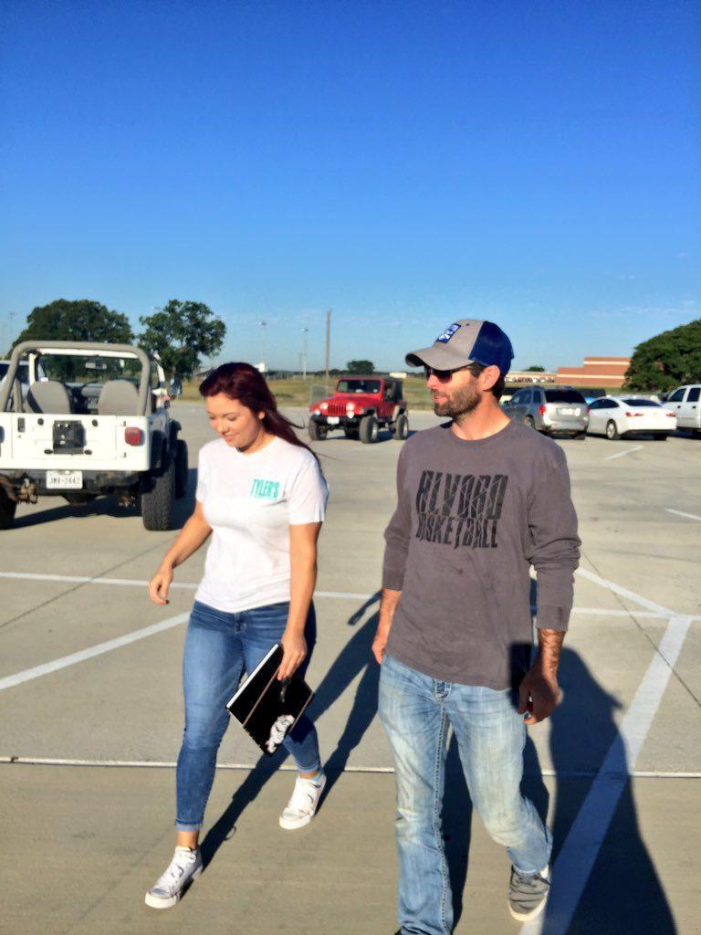 Dad Walks Girl to School 2